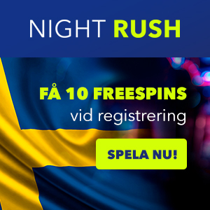 night rush casino bonus codes - få 10 no deposit free spins vid registrering!