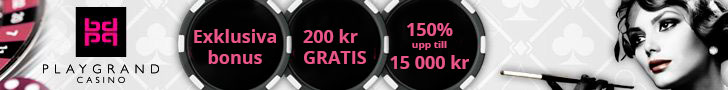 PlayGrand casino exklusiva bonus utan bonuskod